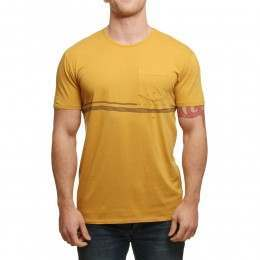 Vissla Wasted Tee Gold Coral
