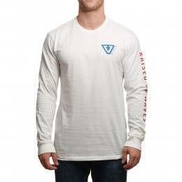 Vissla Raised Long Sleeve Top Vintage White