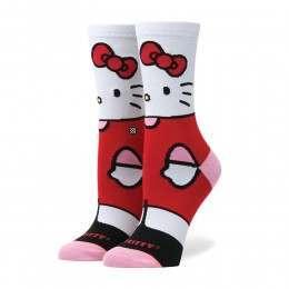 Stance X Hello Kitty Socks White