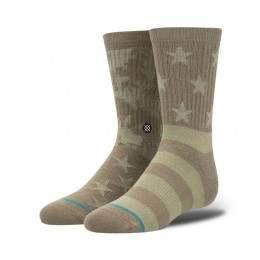 Stance Base Camp Socks Green