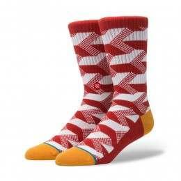 Stance Happening Socks Red