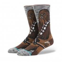 Stance X Star Wars Chewie Pal Socks Grey
