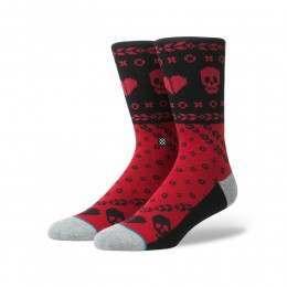 Stance Heart Bandit Socks Red