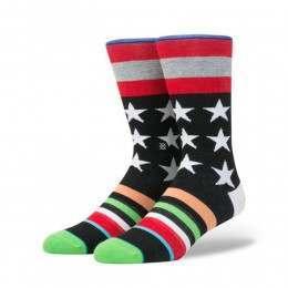 Stance Harden Salute Socks Black