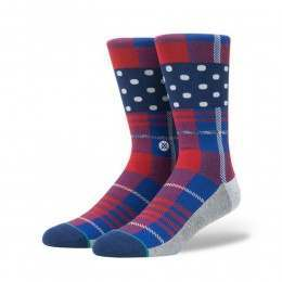 Stance Wade Polka Plaid Multi