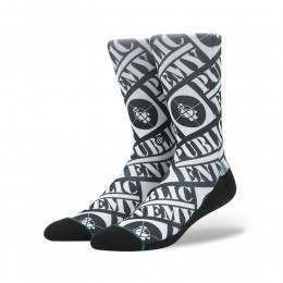 Stance Public Enemy Socks Black