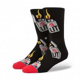 Stance Its Lit Socks Black