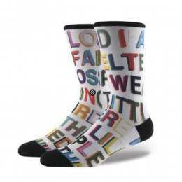 Stance Love Letters Men X Libertine Socks Multi