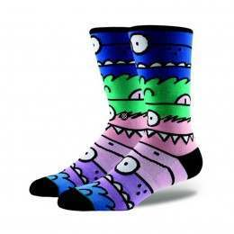 Stance Monster Mash 2 X Kevin Lyons Socks Multi