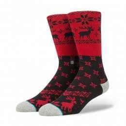 Stance Blitzn Socks Red