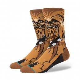 Stance X Star Wars Chewie Socks Brown