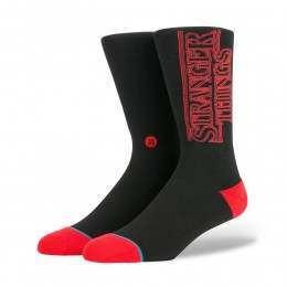 Stance X Stranger Things Socks Black