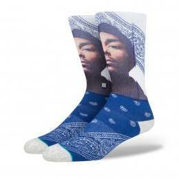 Stance X Snoop Dogg Whats My Name Socks Navy