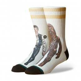 Stance X Star Wars Smuggler Trade Socks Off White