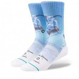 Stance Skate Bryce & Tommy Socks White