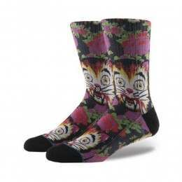 Stance Cat Man Do X Libertine Socks Multi