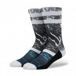 Stance Marble Socks Black