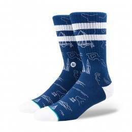 Stance Navigator X John John Florence Socks Blue
