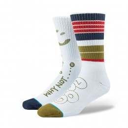 Stance Rugby Skate Socks Blue
