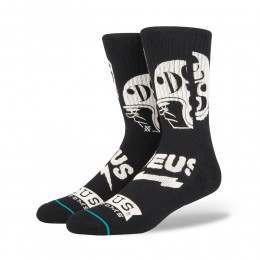 Stance X Deus Blackwater Socks Black