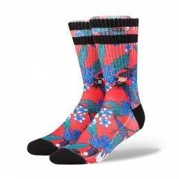 Stance Buggin Socks Red