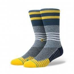 Stance Lunar Crew Fusion Socks Grey