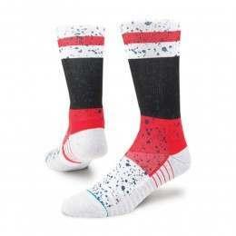 Stance Rain Fusion Socks Red