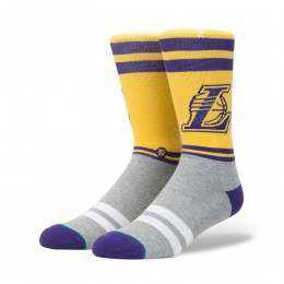 Stance City Gym Lakers Socks Yellow