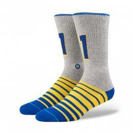 Stance Two Time Socks Heather Grey