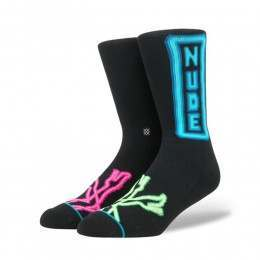 Stance Peepshow Socks Black