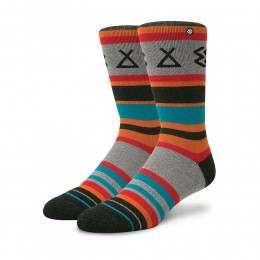 Stance Ironwood Adventure Socks Turquoise