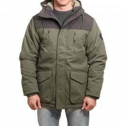 Vissla Foreland II Jacket Dark Olive