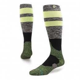 Stance Stoney Ridge Backcountry Snow Socks Lime