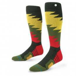 Stance Safety Meeting Fusion Snow Socks Black