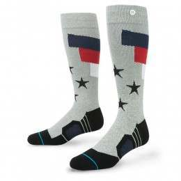 Stance Tomcat Fusion Snow Socks Grey