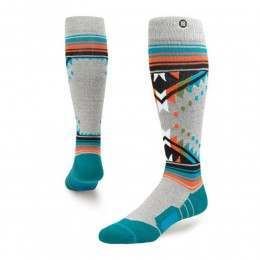 Stance Whitmore Snow Socks Grey Heather