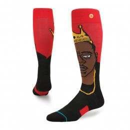Stance Yo Bigs X Notorious BIG Snow Socks Red