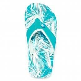 Animal Girls Swish AOP Sandals Bluebird Blue