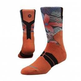 Stance Bloom Fusion Socks Peach