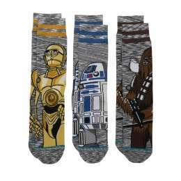 Stance X Star Wars Sidekick 3 Pack Socks