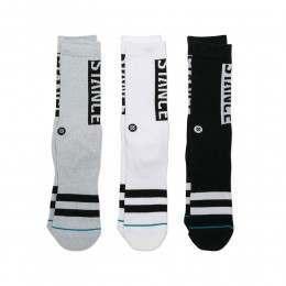 Stance Type 3 Pack Socks Multi