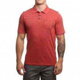 Hurley Dri Fit Lagos Polo Track Red