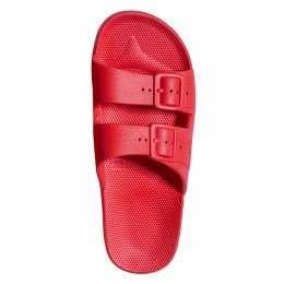 Moses Slider Sandals Fuji Red