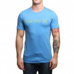Hurley One & Only Push Through Tee Light Blue