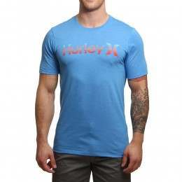 Hurley One & Only Gradient Tee Light Blue
