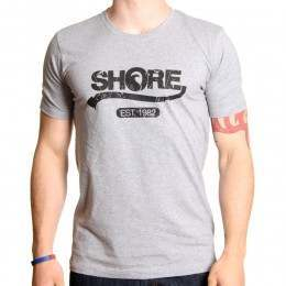 SHORE RETRO TEE Grey