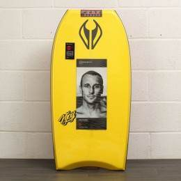 NMD Njoy PE Bodyboard 44 Inch Yellow/Red/Black