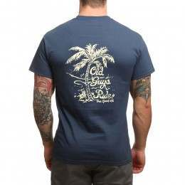 Old Guys Rule Good Life Tee Blue Dusk