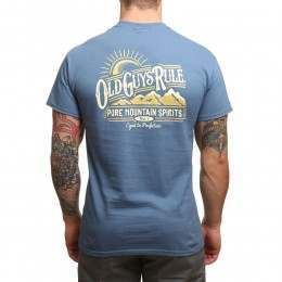 Old Guys Rule Pure Mountain Tee Indigo Blue