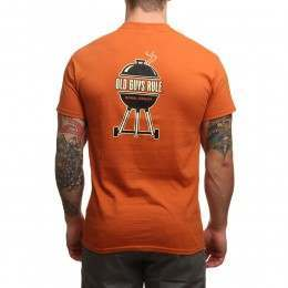 Old Guys Rule Serial Griller Tee Texas Orange